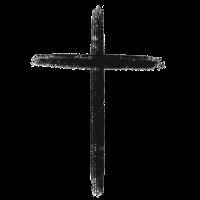 Tuschemalerei Kreuz