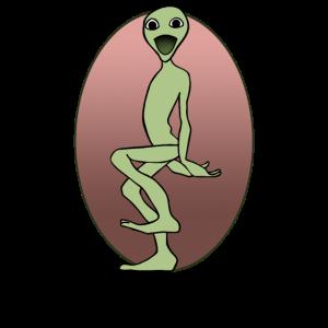 Alien Dance Cosita Frosch Tanz