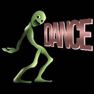 Cosita video Alien Dance Frosch Tanz Geschenk
