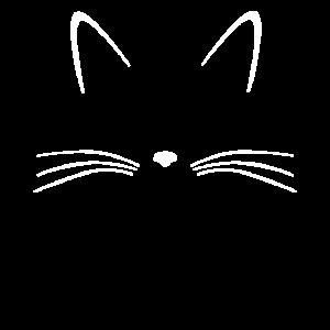 Katze Ohren Nase Schnurrhaare