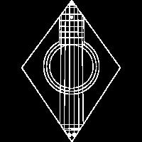 Akustik Gitarre Minimalistisch