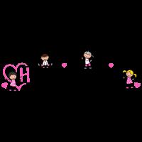 Erzieherin mit Herz Herzieherin Kinder Beruf pink