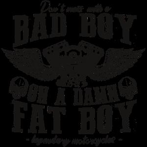 Fatboy HD Chopper T-Shirt! Biker wear