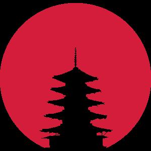 Japanische Pagode