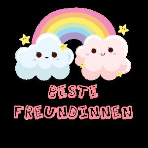 Beste Freunde Best Friends Beste Freundinnen Wolke
