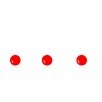 drei Rentiere mit roter Nase - Merry Xmas