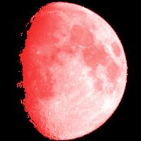 Roter Mond Blutmond