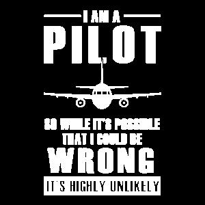 Ich Bin Ein Pilot Piloten Geschenk