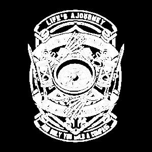 Kompass Das Leben ist eine Reise