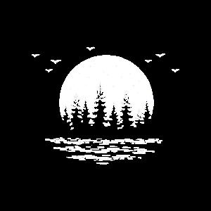 Fernweh nach Seen, Wälder und Natur