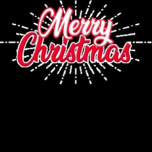 Fröhliche Weihnachten Schrift Spruch Cartoon Motiv