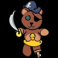 Piratenteddy
