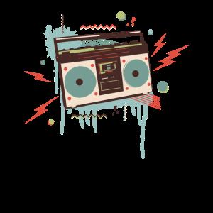 Boombox Ghetto Blaster Hip Hop Beatbox