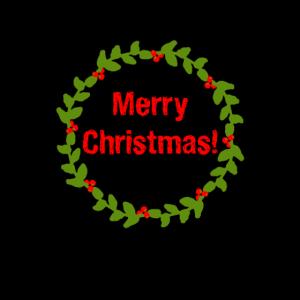Mistelzweig - Weihnachtsgeschenk, Cartoon