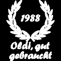 1988 30 Jahre alt Oldi Geburtstag