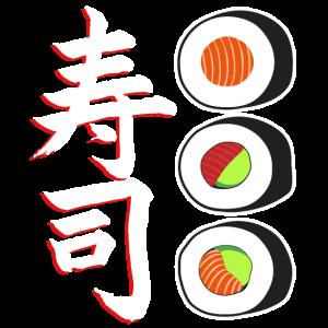 Sushi Essen Japan Fisch Reis Staebchen