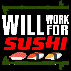 Sushi Reis Fisch Essen Japan Bar Staebchen