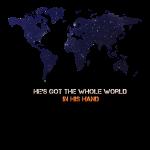 Er hält die ganze Welt in seiner Hand