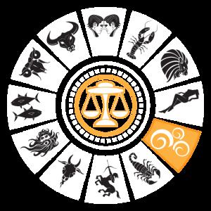 Sternzeichen Waage Horoskop Astronomie Geschenk
