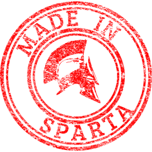Made in Sparta / Sparta/ Spartaner