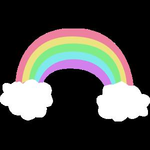 Regenbogen Wolken