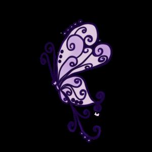 filigraner Schmetterling