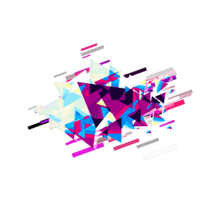 Abstrakt Hintergrund 80er Retro Violett
