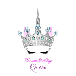 Einhorn Geburtstag Königin