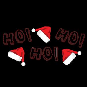 Lifestyle Shirt Ho ho ho Weihnachten Xmas