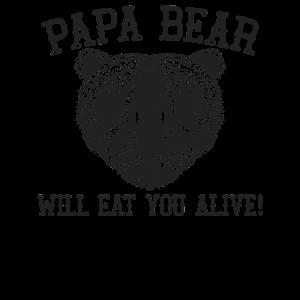 Papa Bär isst dich lebendig