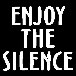 Genieße die Stille Dunkelheit