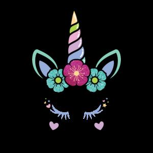 Unicorn - Einhorn - Zum Geburtstag für Mädchen