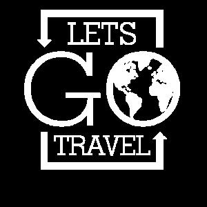 Reisen T-Shirt Motiv