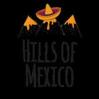 Hügel von Mexiko