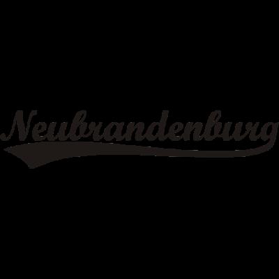 Neubrandenburg Schwarz - Das Exclusive Neubrandenburg Shirt aus der schönen Vier Tore Stadt am Tollensesee. - Tollensesee,Tollense,Neubrandenburg,NB,Marienkirche,Geschenk