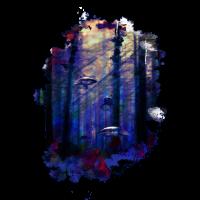 Haifische zwischen den Bäumen - Verloren im Wald