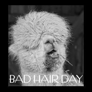 Bad Hair Day - Friseurin Friseur Barbier Geschenk