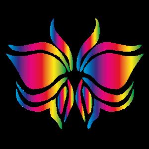 Bunter Schmetterling Geschenk