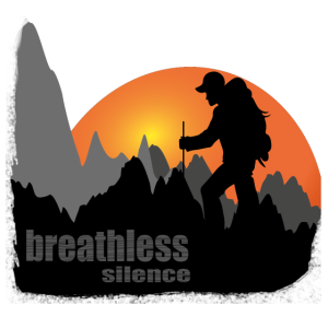 Breathless silence Atemlose Stille Wanderer