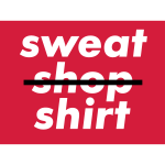No Sweatshopshirt / 3 Colors
