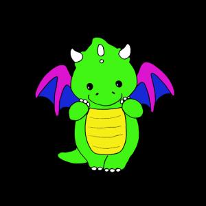 Baby Drache Kinder Dragon Kindergeburtstag