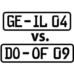 GE-IL 04 vs DO-OF 09 Schalke gegen Dortmund