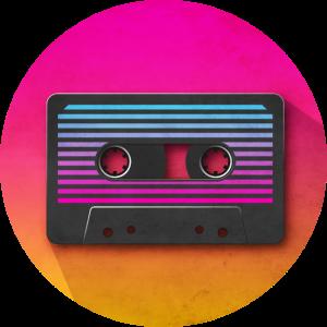 80's Kassette Icon