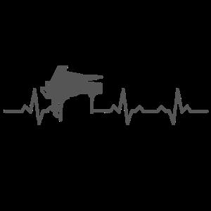 Heartbeats Piano Heart Rate