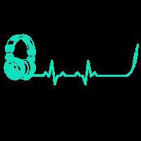 Heartbeats DJ Headset Heart Rate