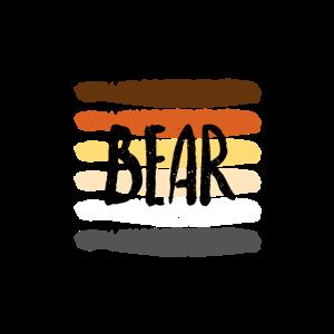 Gay Bear Schwul Pride Flagge Flag Rainbow