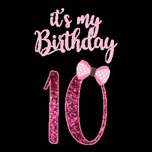 10. Geburtstag Mädchen - Geschenk 10. Jahre alt