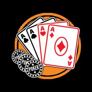 Poker card game - all in geschenkidee