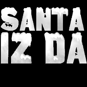 Santa Weihnachtsmann Geschenk Heiligabend