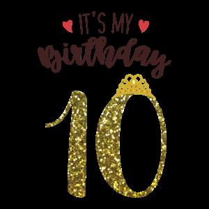 10. Geburtstag Mädchen Geschenk Prinzessin